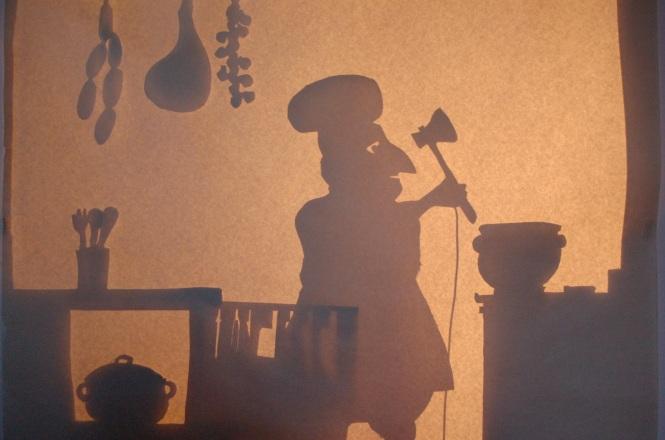 Le cuisinier dans l'ombre