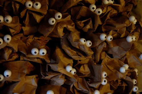 sac marionnette